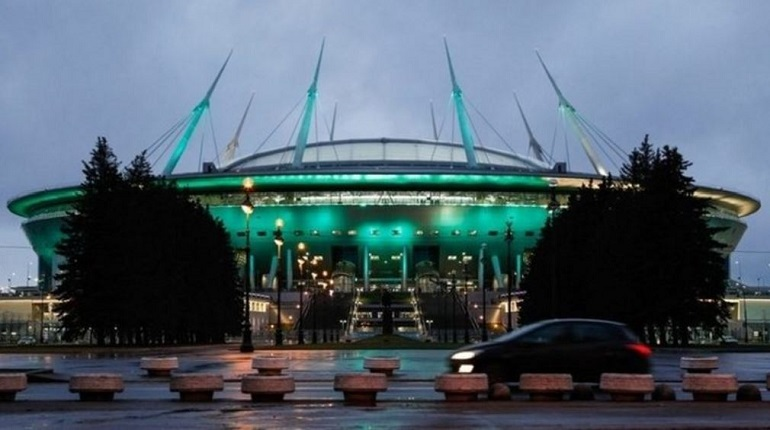 «Газпром Арена» может принять бои UFC и матчи НБА