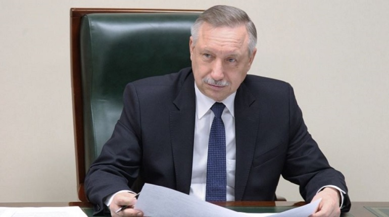 Врио губернатора Петербурга Александр Беглов. Фото: Baltphoto