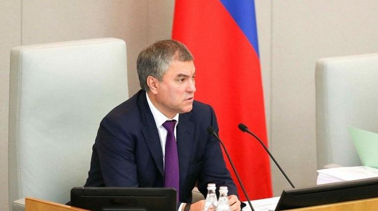 Володин допустил иностранную провокацию в ситуации с Навальным