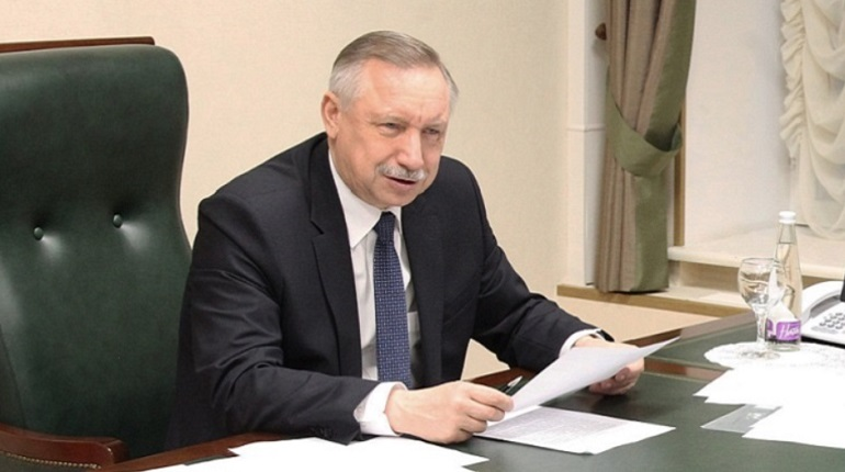 Врио губернатора Санкт-Петербурга Александр Беглов. Фото: gov.spb.ru