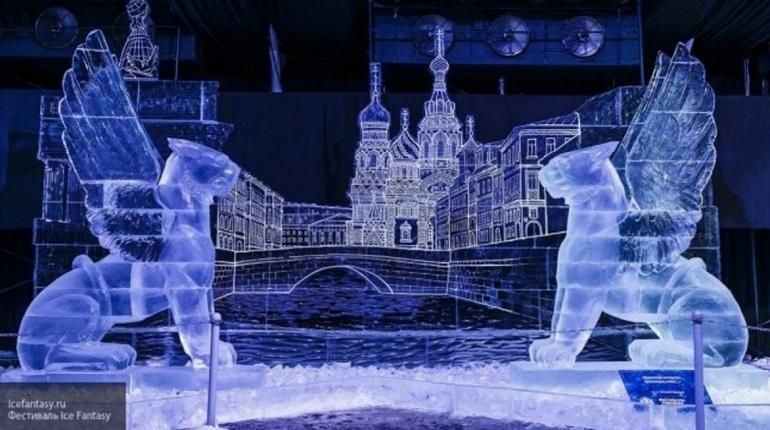 На выставке ледовых скульптур петербуржцев отправят в «кругосветное путешествие»