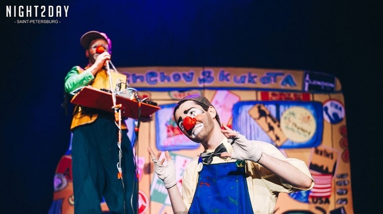 Клоун-мим шоу «ТИХА». Фото: предоставлено организаторами