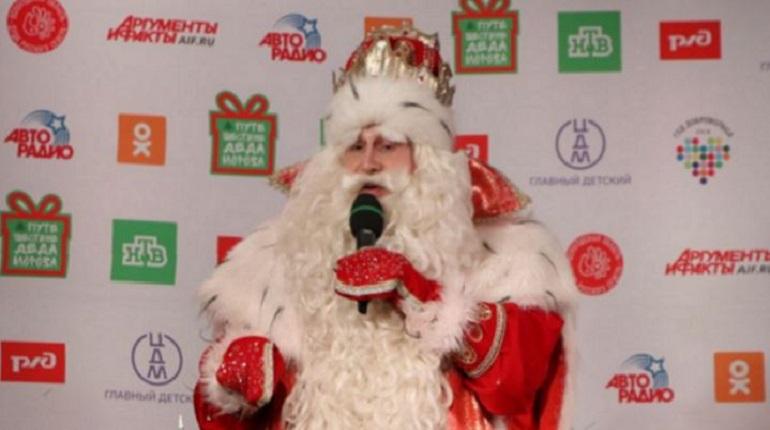 Дед Мороз в Петербурге. Фото: Мойка78/Николай Овсянников