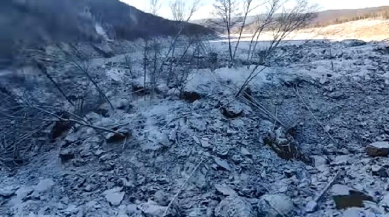 В Сеть попали кадры последствий падения «метеорита» в Хабаровском крае