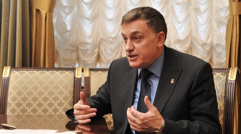 Председатель ЗакСа Вячеслав Макаров. Фото:  Baltphoto/ Павел Долганов