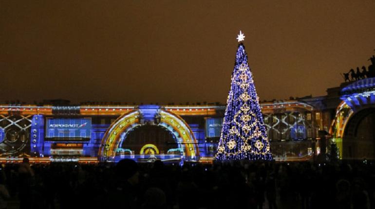 Шоу Аэрофлота на Дворцовой. Фото: Мойка78