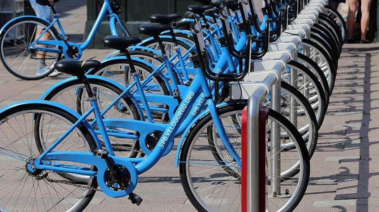 Городская сеть велопроката в Петербурге заработает 1 мая