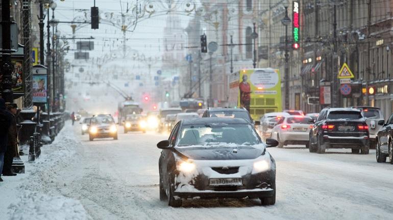 В Петербурге гололед. Фото: Baltphoto / Дарья Иванова