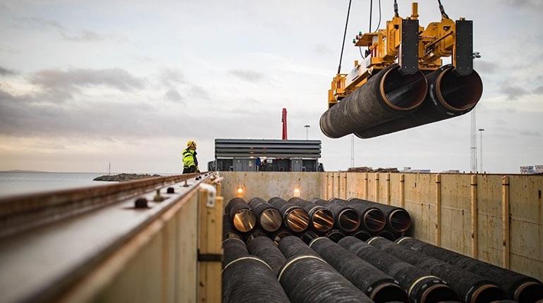 В МИД ФРГ уверены в завершении строительства«Северного потока — 2»