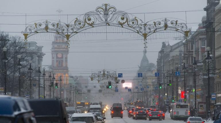 Петербург ждут гололедица и похолодание, полвека назад было тепло