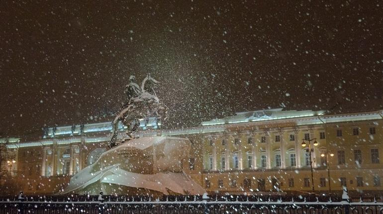 Петербург накроет метелью. Фото: Baltphoto/ Павел Долганов