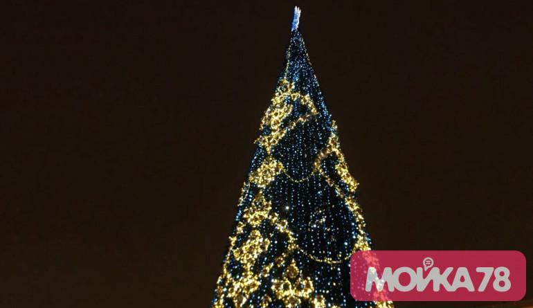 На оформление Петербурга к Новому году потратят 182 млн рублей