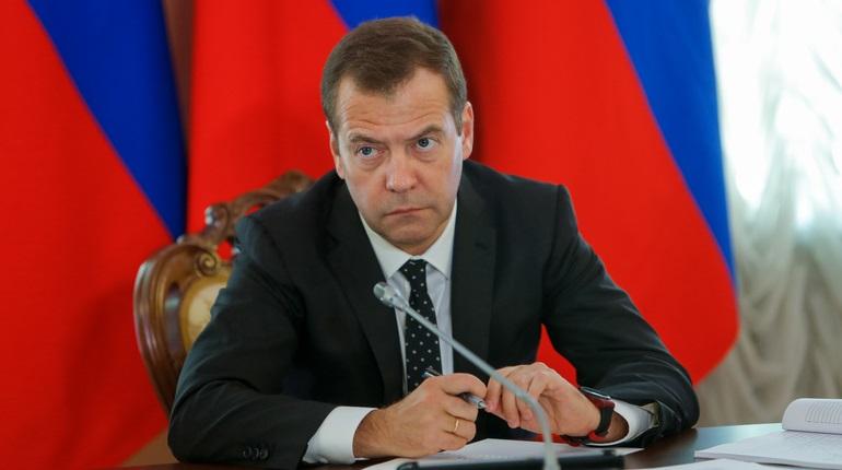 Председатель правительства РФ Дмитрий Медведев Фото: Baltphoto/Михаил Киреев