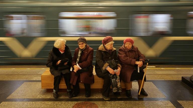 В метро обнаружен бесхозный предмет. Фото: Baltphoto/Андрей Пронин
