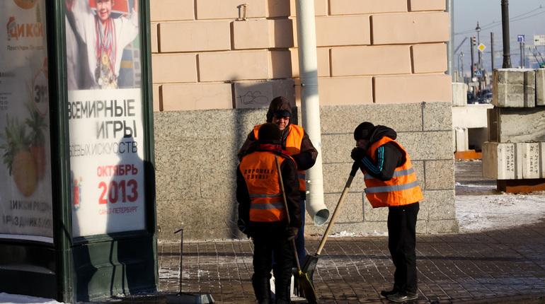 Трудовые мигранты в Петербурге. Фото: Baltphoto/ Виктория Ламзина