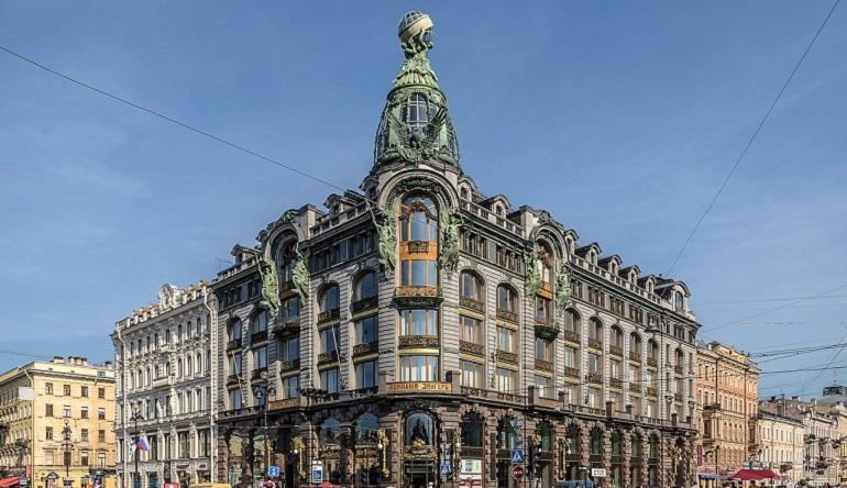 Петербург назвали литературной столицей России. Фото: Википедия