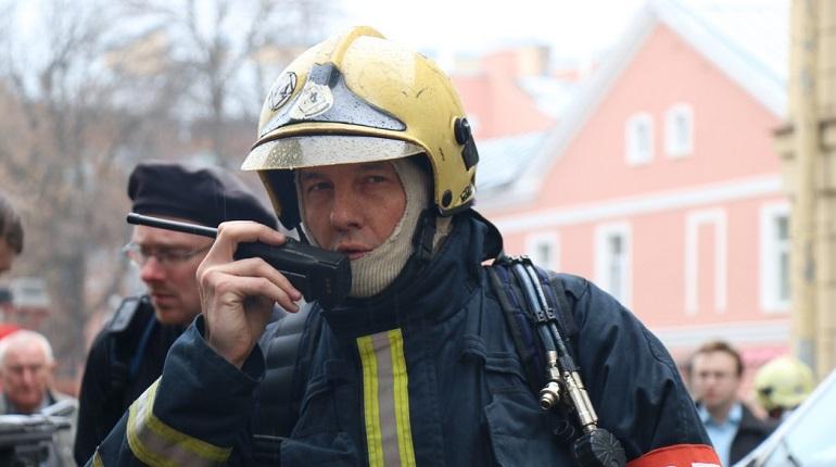 В Петербурге потушили пожар. Фото: Baltphoto/Николай Овсянников