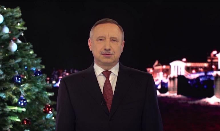 Врио губернатора Александр Беглов. Фото: скриншот видео