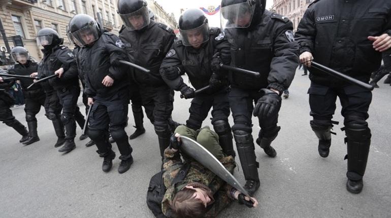 Несанкционированный митинг навальнят 9 сентября 2018 года. Фото: Baltphoto/Валентин Егоршин