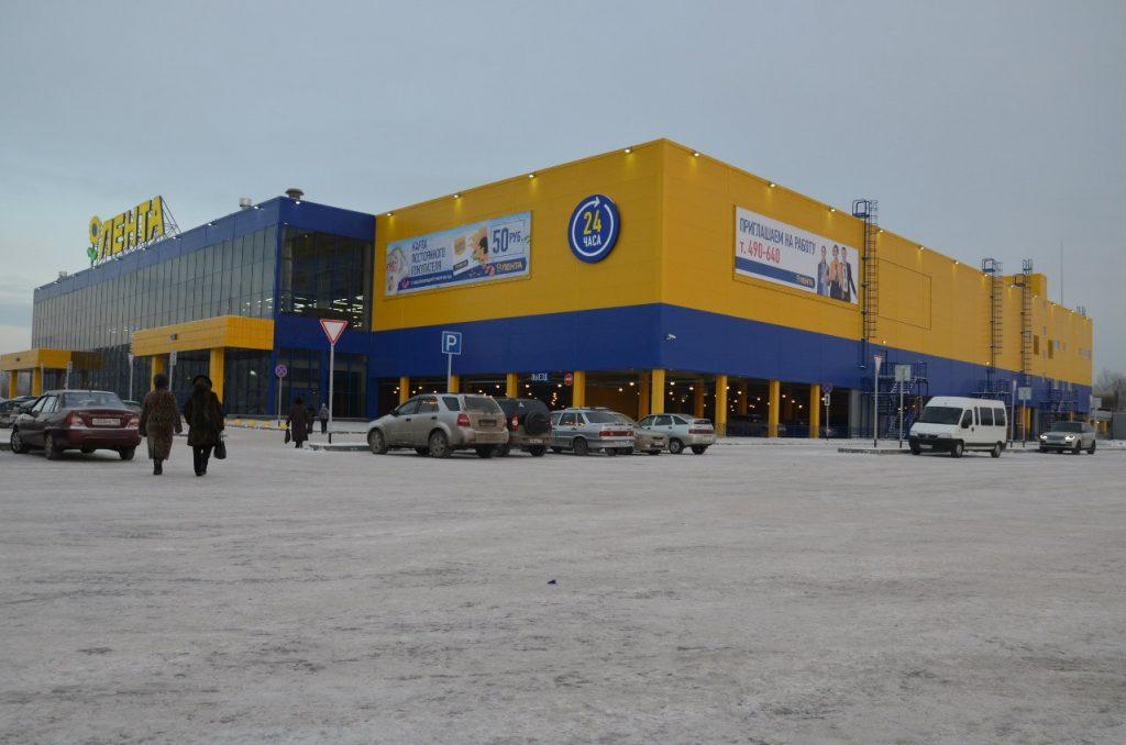 Покупателей «Ленты» эвакуировали из-за «минирования»