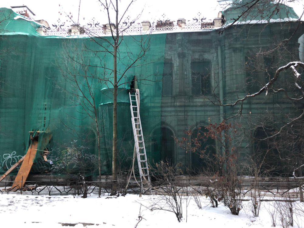 Заброшенный особняк на Каменноостровском перестроят в гостиницу