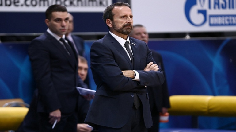 Новый тренер БК «Зенита» прокомментировал поражение «Химкам»
