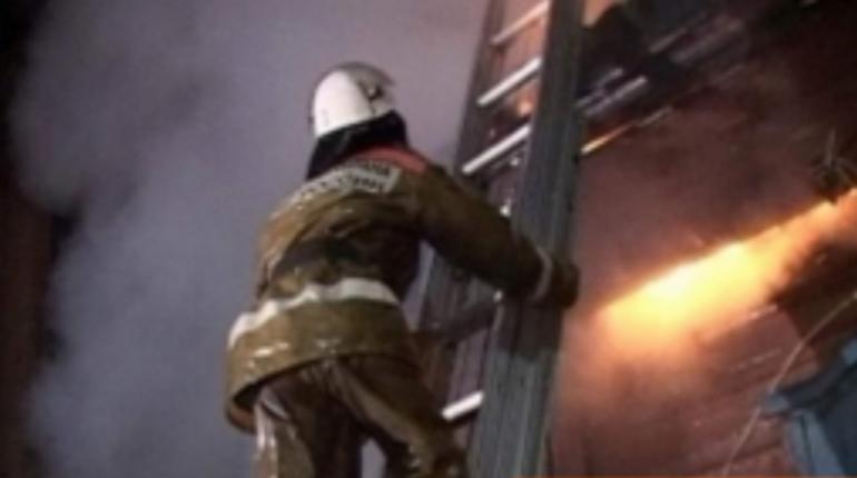 В Ленобласти сгорел дачный дом. Фото: архив ГУ МЧС по Ленобласти
