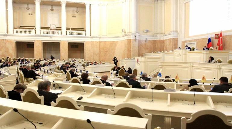 Заседание Заксобрания Петербурга. Фото: assembly.spb.ru