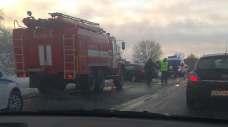 Авария на Таллинском шоссе. Фото: ДТП и ЧП Санкт-Петербург