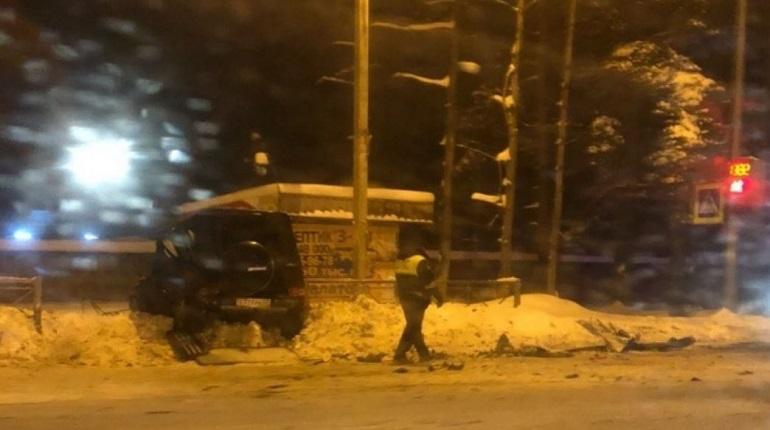 Авария в Сертолово. Фото: ДТП и ЧП Санкт-Петербург