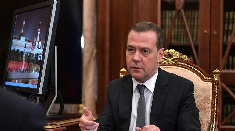 Председатель правительства РФ Дмитрий Медведев. Фото: kremlin.ru