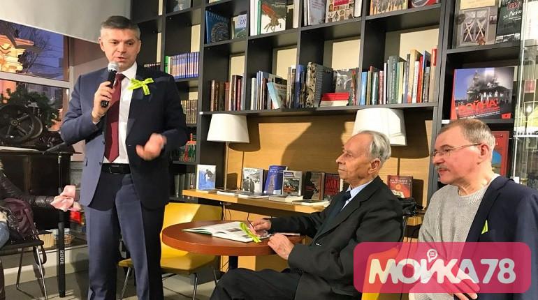 Встреча в Книжной лавке писателей. Фото: Мойка78