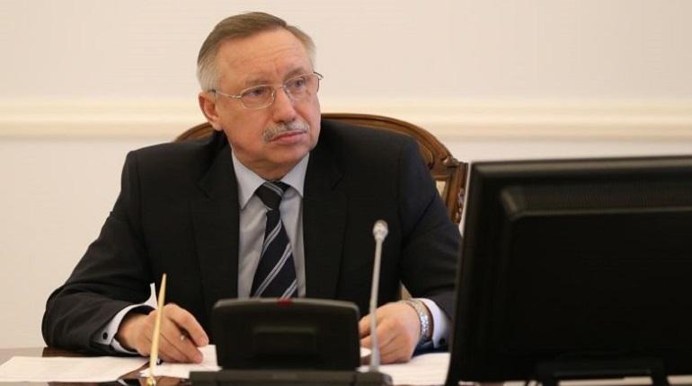 Врио губернатора Александр Беглов. Фото: gov.spb.ru