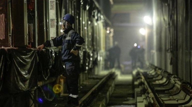 Строительство метро в Петербурге. Фото:  Baltphoto/Валентин Егоршин