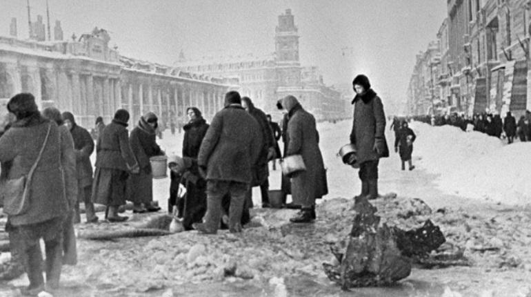 Блокадный Ленинград. Фото: Википедия
