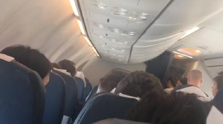 Самолет покинул Сочи и летит в сторону Турции. Фото: скриншот