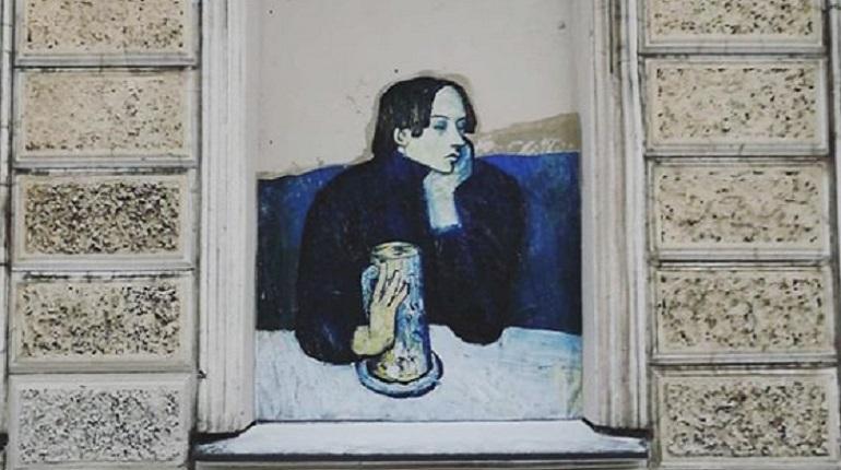 Репродукция на улице Чехова. Фото: Instagram