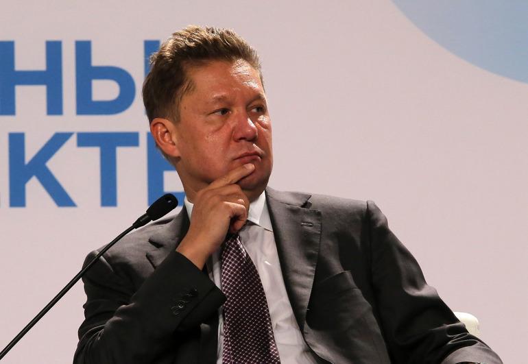 Председатель правления ПАО «Газпром» Алексей Миллер. Фото: Baltphoto/ Андрей Пронин