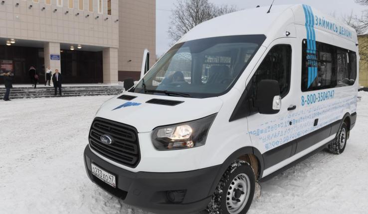 Биржа труда в Ленобласти получила пять новых передвижных офисов