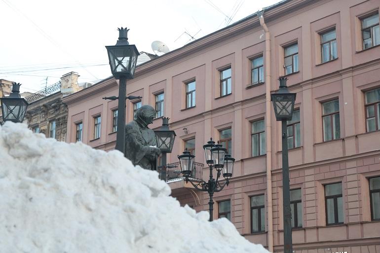 Снег в Петербурге. Фото: Мойка78/Валентин Егоршин