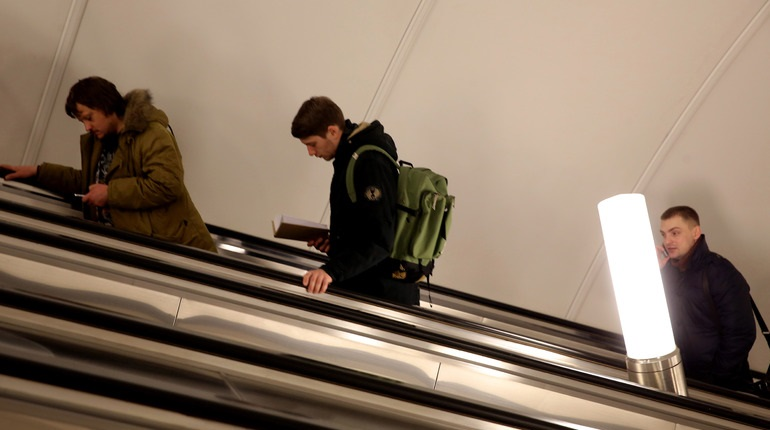 В Петербурге закрывали станцию метро «Адмиралтейская»