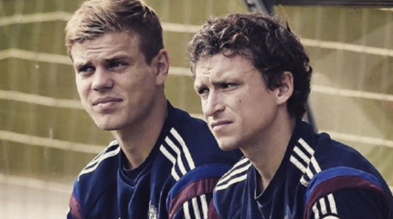 Футболисты Александр Кокорин и Павел Мамаев. Фото: Instagram