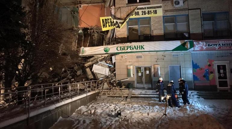 Санкт-Петербург   В Новочеркасске обрушилось четырехэтажное офисное ... 0a91480787b