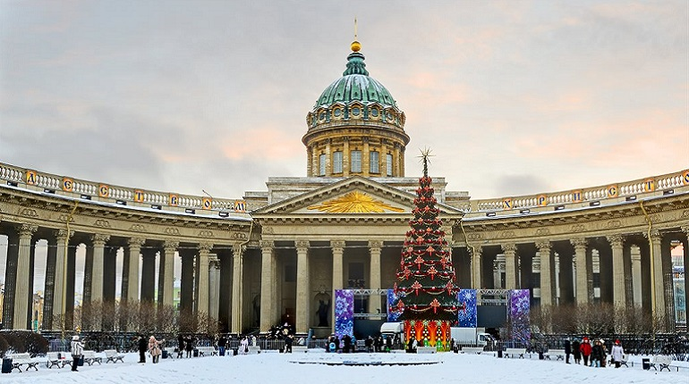 Главная Рождественская служба в Петербурге пройдет в Казанском соборе