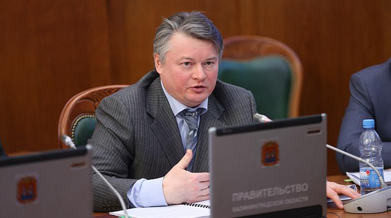 Вице-губернатора Петербурга Эдуард Батанов. Фото: gov39.ru