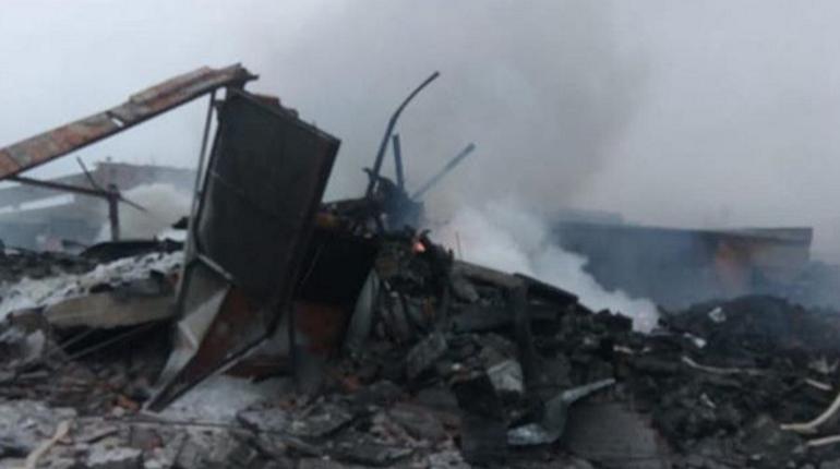 Последствия взрыва на заводе