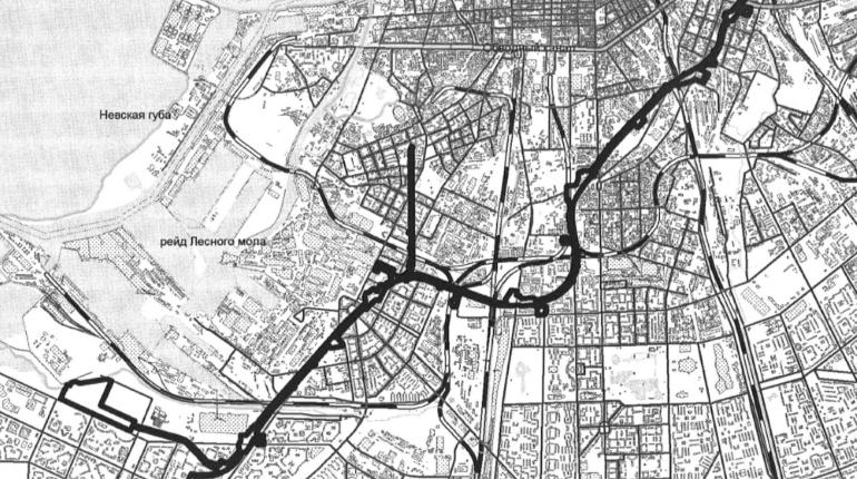 В Петербурге распланируют территорию под 6 станций метро и депо