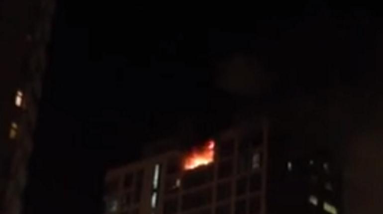 Пожар в Балашихе тушила 21 пожарная машина