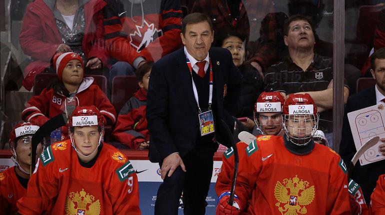 Сборная России победила Словакию на молодежном чемпионате мира по хоккею