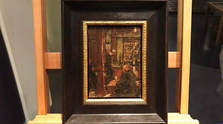 Предположительно, неизвестная картина Ван Гога. Фото: Twitter